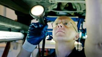 Marknaden för fordonsbesiktning fortfarande under uppbyggnad
