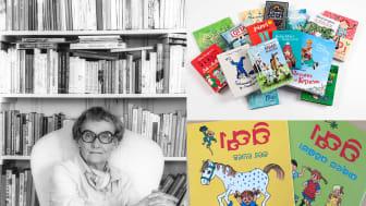 Astrid Lindgren på Dalagatan, urval av översatta böcker samt Känner du Pippi Långstrump och Pippi Långstrump i Humlegården på oriya