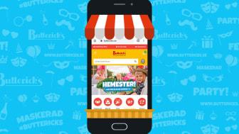 Butterick's väljer Oddny som e-handelsleverantör