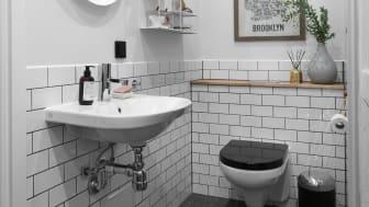 En badeværelsesrenovering behøver ikke koste tusindvis af kroner; ved at udskifte elementer som håndvask, armatur og toilet kan man forholdsvist billigt opgradere et ellers gammelt og slidt badeværelse.