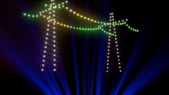 Drohnenshow Netze für morgen