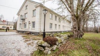 Geijerskolan i Ransäter är nu helt fossilfria i sin värmeförsörjning. Foto John Persson