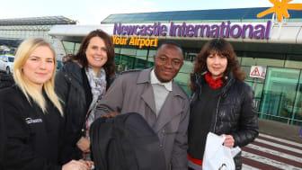 Ghana TV show winner heads for Northumbria
