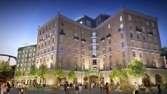Liseberg lays foundation for the future Grand Curiosa Hotel