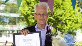 Ingvar Carlsson är årets Boråsambassadör 2021. Foto: Maria Fallbäck