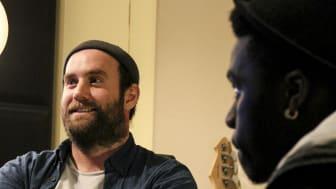 Jon Skoog, cirkelledare och musikproducent på Gateway Music