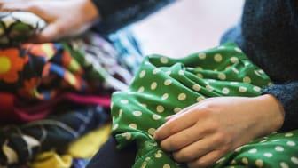 Textilavfall och elskrot påverkar klimatet mest