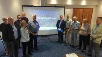 MP Henry Smith held a public meeting in Crawley to discuss how the Passenger Benefit Fund should be spent