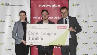 Norwegian crecerá un 52% en Madrid en verano de 2016
