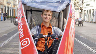 Trotz der unsicheren Corona-Lage hat Gründer Gernot Gräbner am Startschuss für sein Rikscha-Unternehmen festgehalten.