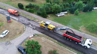 Projekt BIM SE: Einsatz von Profilfräsen bei der Sanierung der L1151 zwischen Reichenbach und Schlichten in Baden-Württemberg. copyright: STRABAG AG