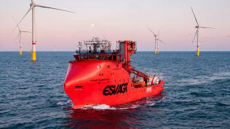 ESVAGT's kerneværdi har i 40 år været sikkerhed til søs; et DNA, der fortsætter i offshore vind.