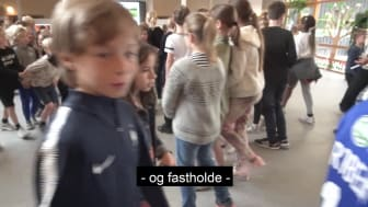 Sofie Carsten Nielsen (RV) på skolebesøg på Rygaards International School