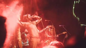 Musikgruppen Faela! är en av artisterna under Hx 2018.