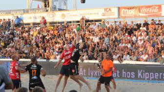 Åhus Beachhandboll drog flest eventbesökare till Kristianstad 2018.