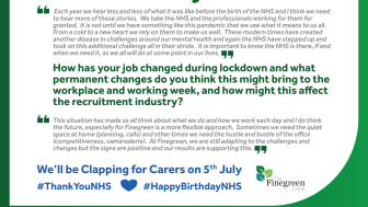 WHAT THE NHS MEANS TO FINEGREEN - SHIRLEY MCINTOSH