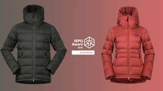 We are grateful and proud to be announced as a gold winner in ISPO Awards, says Sven Mostögl, Product & Design Director in Bergans.