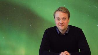 Anders Rebbling, doktorand på institutionen för tillämpad fysik och elektronik. Foto: Eleonora Boren