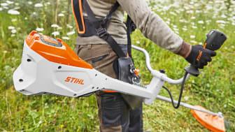 Ny produktserie med proffsmaskiner från STIHL – för effektiv och bekväm park- och grönyteskötsel