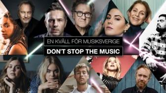 """Stiftelsen uppmärksammas i """"Don't stop the music"""""""