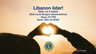 Hjelp Libanon gjennom Lions