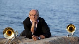 """Trombonisten, kompositören och dirigenten """"maestro"""" Christian Lindberg."""