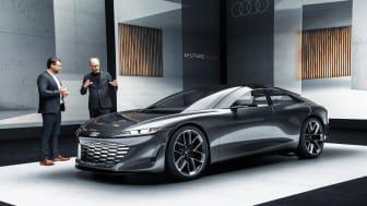 Audi grandsphere – mod fremtiden på første klasse