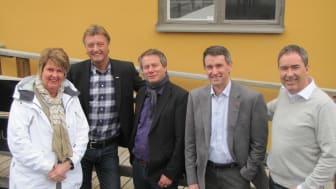 Vimmerby kommun besöker Peak Innovation i Östersund