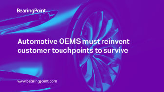 Automotive OEMS must reinvent customer touchpoint to survive