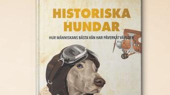 Kända hundar får egen bok!