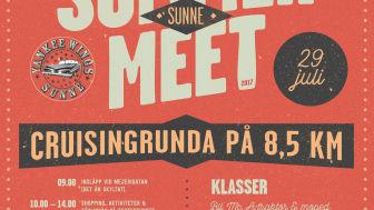 Summer Meet från morgon till natt i Sunne