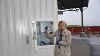 Ulla Hamilton: Stockholmarna kan tycka till om prototypen till framtidens miljöstation