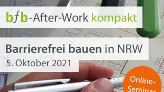 bfb After-Work kompakt: Barrierefrei bauen in NRW