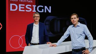 Norbert Weber, Head of Design Interior and Philipp Römers, Head of Design Exterior