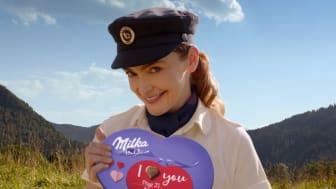 Z Milka valentýnské kampaně