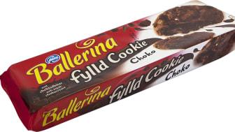 Ballerina fylld cookie choko