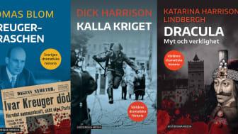 Historia för alla! Tre nya, spännande titlar i Historiska Medias populära seriesatsning
