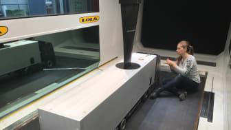 Plasmatekniken testas i vindtunnel.