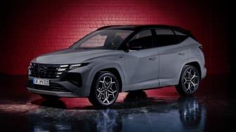 Hyundai avslöjar sportig N Line-utrustning till helt nya TUCSON