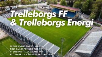 Trelleborgs Energi har gått in som Guldsponsor till klubben där de vill fokusera på såväl dam- som ungdomsfotbollen. Utöver detta avtal ger Trelleborgs Energi via sin Förenings-el 200 kronor till klubben vid nya avtal. Foto: Björn Sandberg