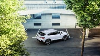 Audi Q3 Sportback 45 TFSI e (Gletsjerhvid)