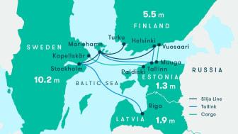 Silja Line Polen