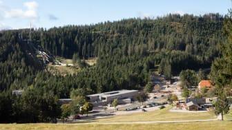 Das neue Nationalparkzentrum ist eingebettet in die dicht bewaldete Schwarzwald-Landschaft am 950 m hohen Ruhestein.  copyright: Atelier Dirk Altenkirch