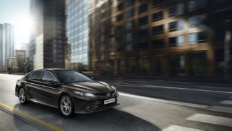 Toyota Camry var en populær taxi i sitt første år på markedet