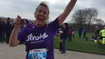 ​Local runner joins the resolution for the Stroke Association