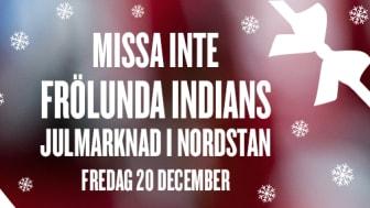Välkommen till Frölunda Indians Julmarknad i Nordstan