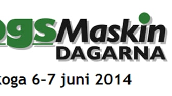 Möt Malux på Skogsmaskindagarna 6 - 7 juni 2014 i Karlskoga!
