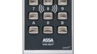 ASSA Pando Secure silver läsare