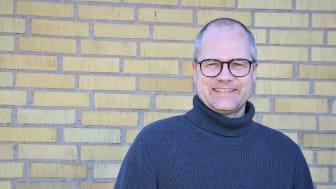 Martin Lovmar, forskare på Wellspect. Foto: Jonas Löfvendahl