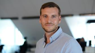 Entreprenören Rasmus Palazzi från Västerås tävlade och vann med sin idé Hardskills.